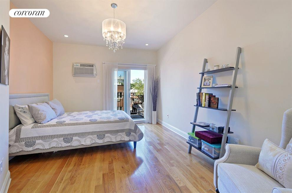 Master bedroom with balcony, and more...