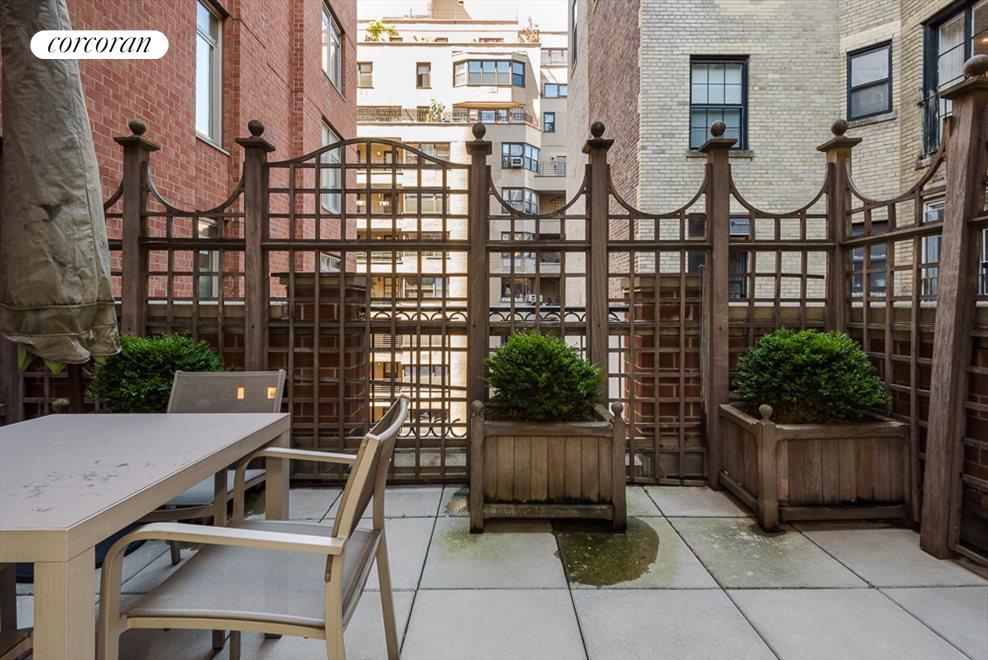 Private Landscaped Terrace