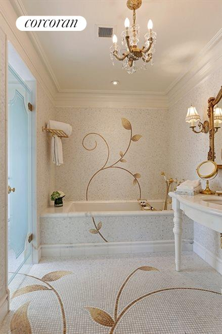 New York City Real Estate | View 768 Fifth Avenue, #PH2040 | Master Bathroom