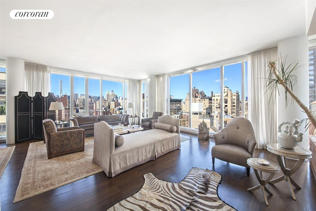 151 East 85th Street, 15A, Living Room
