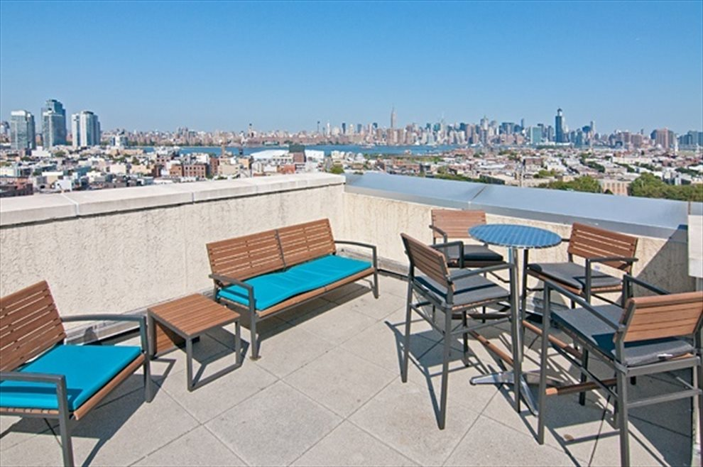 New York City Real Estate | View 20 Bayard Street, #14C | Common Roof Deck