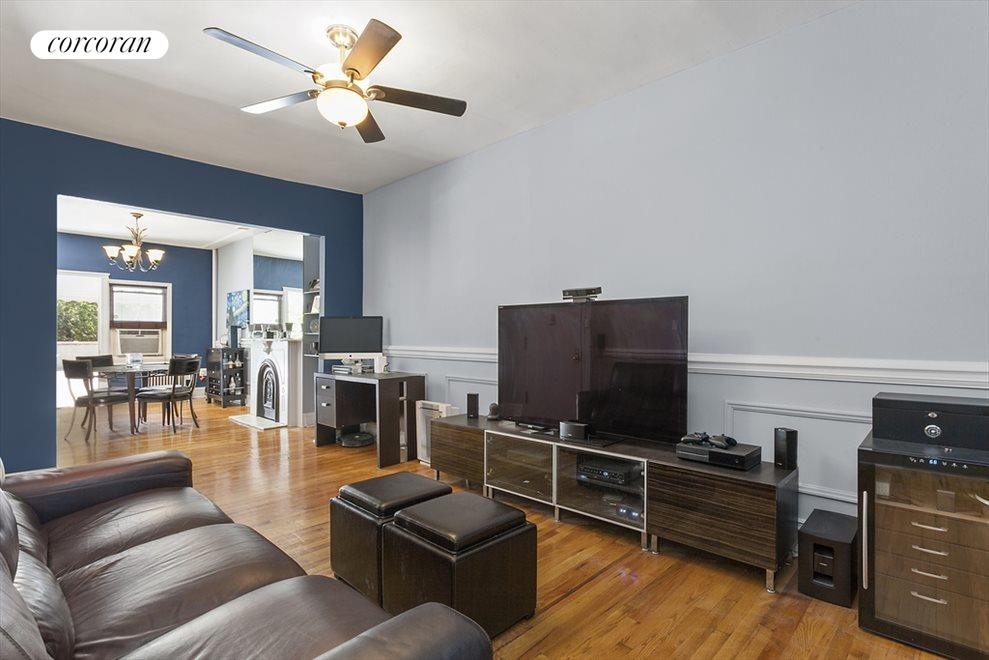 New York City Real Estate | View 186 Sackett Street | 2nd Floor Apt-Delivered Vacant