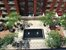 555 West 23rd Street, S7C, landscaped courtyard with reflective pool/fountain