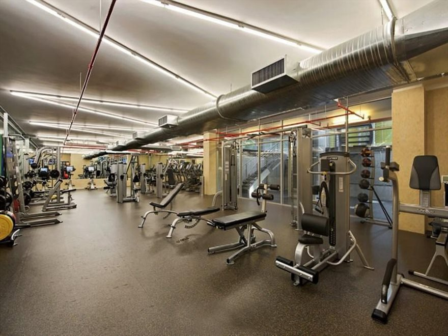New York City Real Estate | View 555 West 23rd Street, #N8H | fitness center