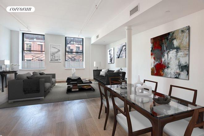 133 MULBERRY ST, 4A, Living Room