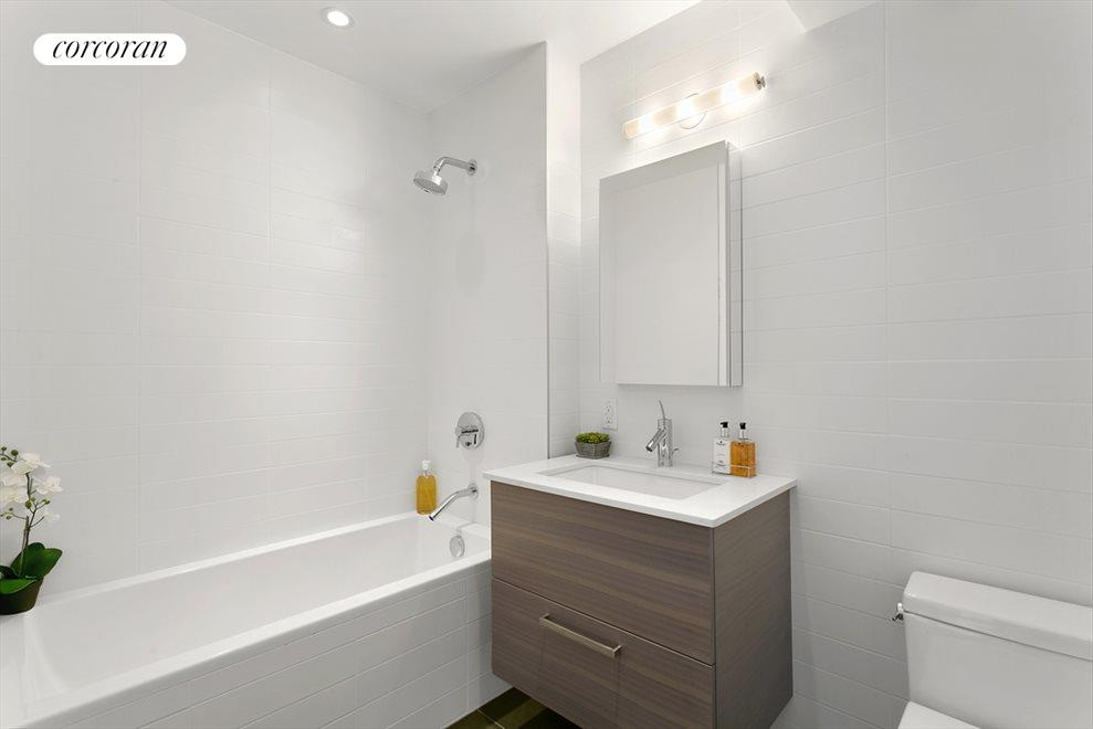 Bathroom with clean and modern design