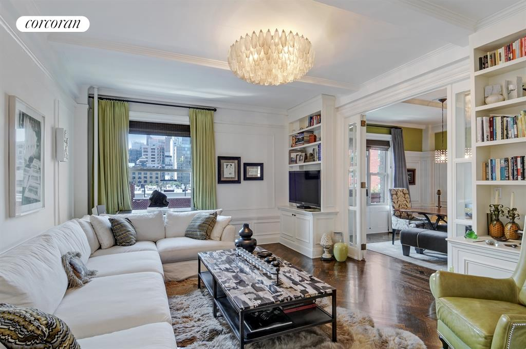 203 West 81st Street, 8A, Living Room