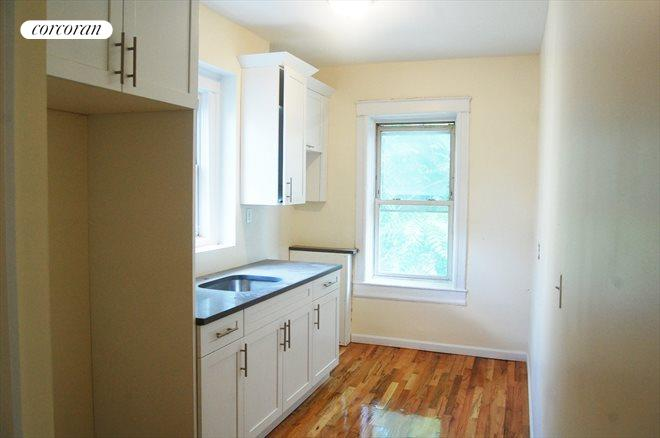 1138 Sterling Place, Top Floor Rental Apartment Kitchen