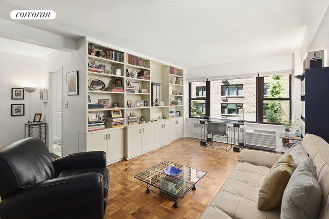 Corcoran 510 east 86th street apt 5a upper east side for Living room 86th st
