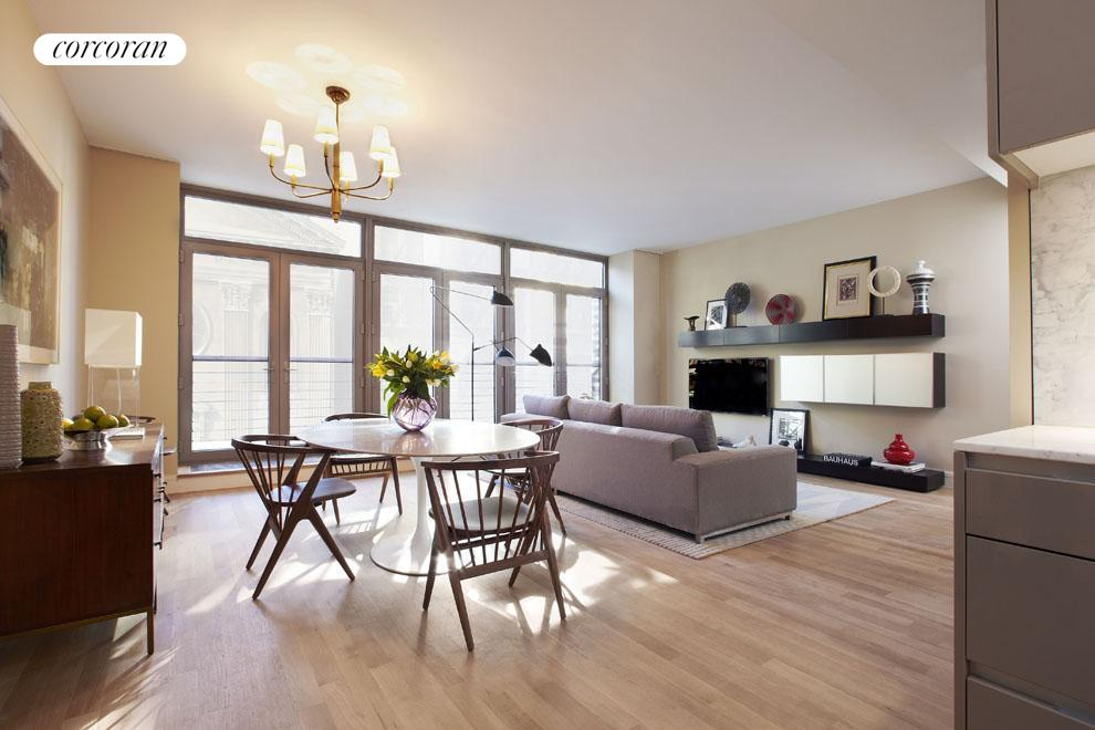 124 West 23rd Street, 9A, Living Room
