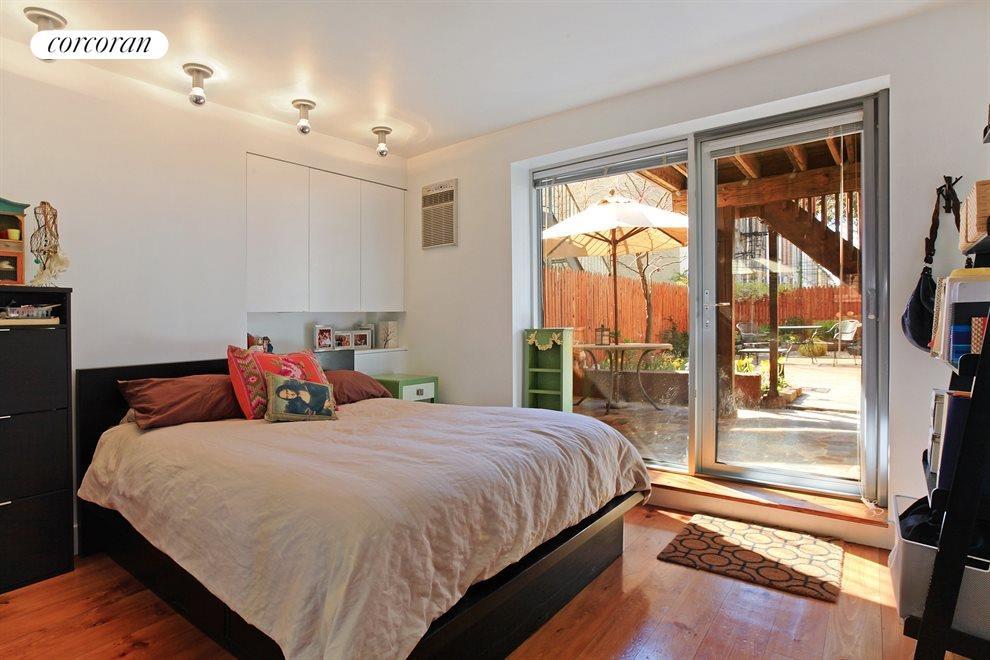 Garden Apartment Master Bedroom