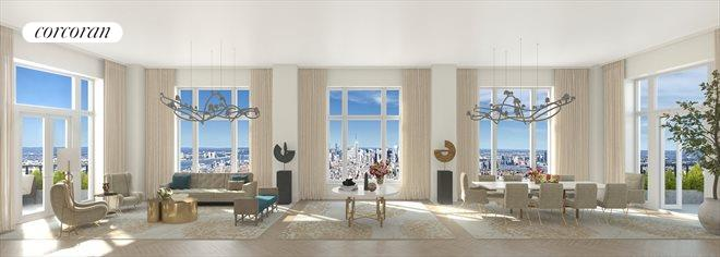 Condominium for Sale at Four Seasons Hotel, 30 Park Place Ph-82 30 Park Place New York, New York 10007 United States