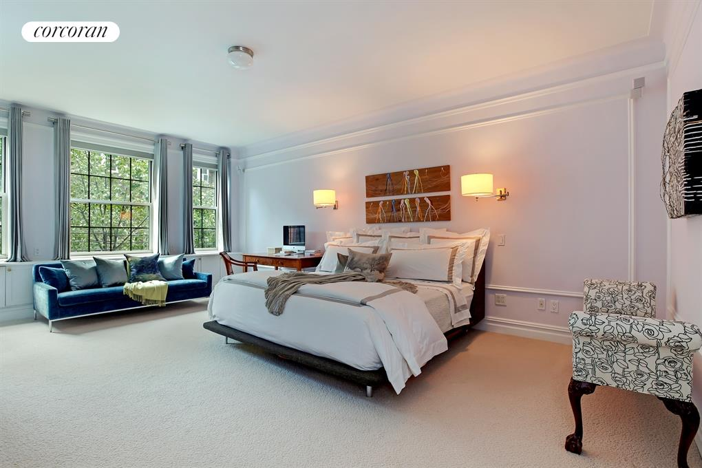 161 West 75th Street, 2/3D, Expansive South Facing Living/Dining Room