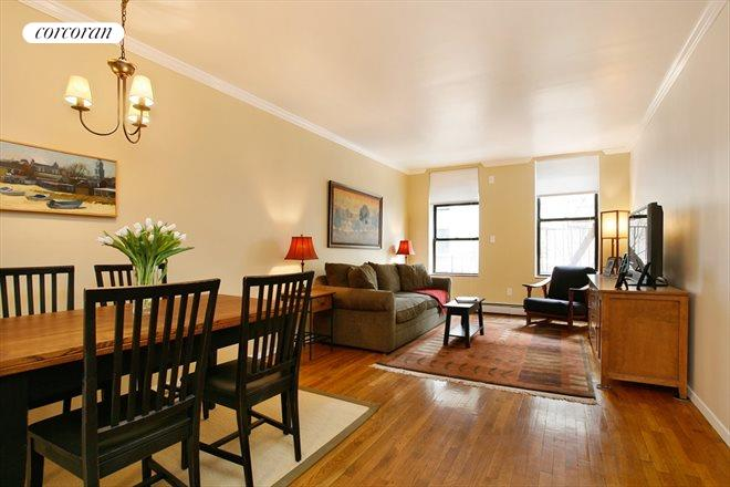 5 West 107th Street, 3D, Living Room / Dining Room