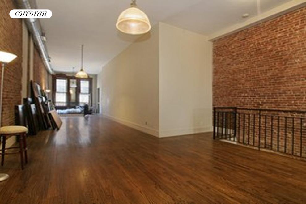 Upstairs floor of duplex