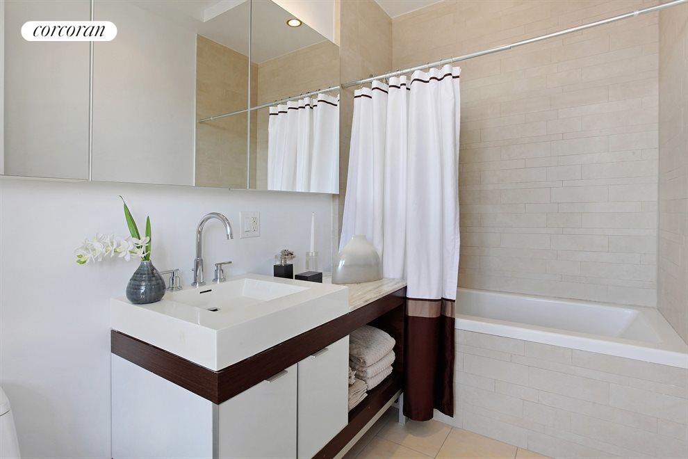 New York City Real Estate | View 20 Bayard Street, #14C | 2nd Bathroom