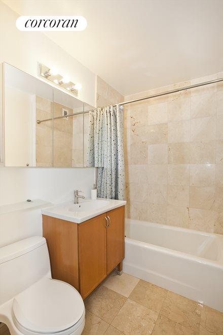Renovated Bathroom with bathtub