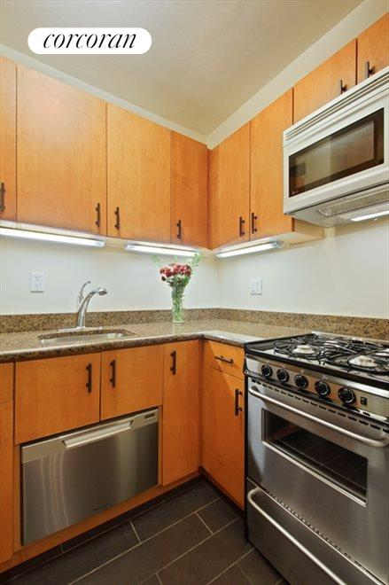 New York City Real Estate | View 333 East 46th Street, #9C | Perfectly designed, efficient kitchen