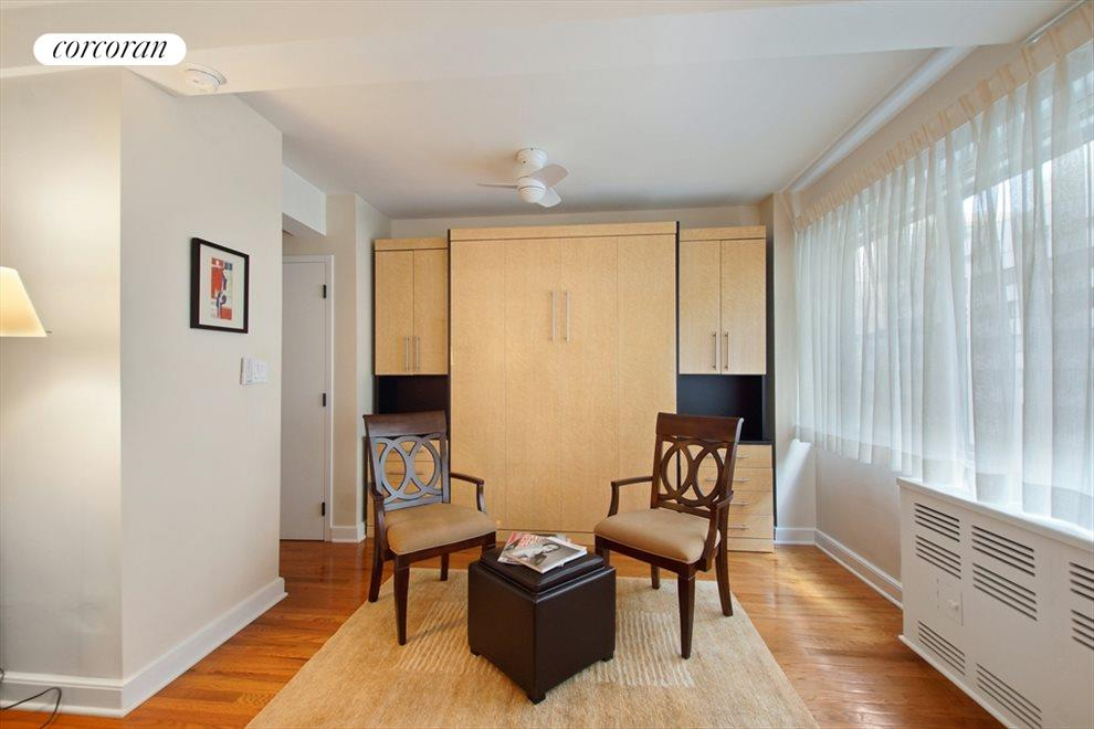 New York City Real Estate | View 333 East 46th Street, #9C | Your Murphy bed, so easy to open at day's end