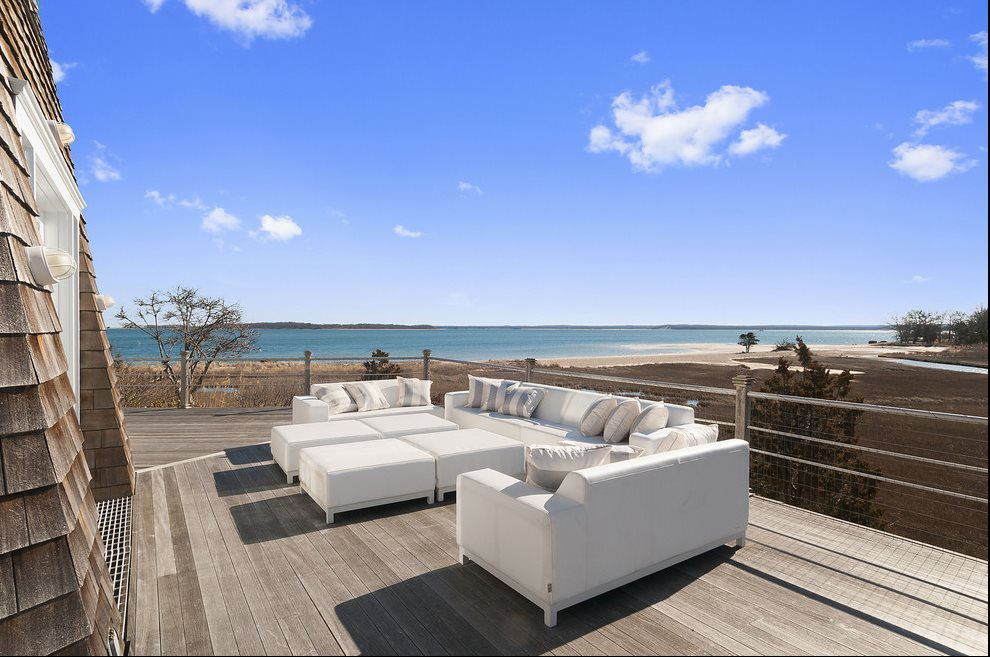 Gorgeous outdoor living spaces overlooking beach and preserve