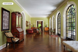 Garden house gathering room