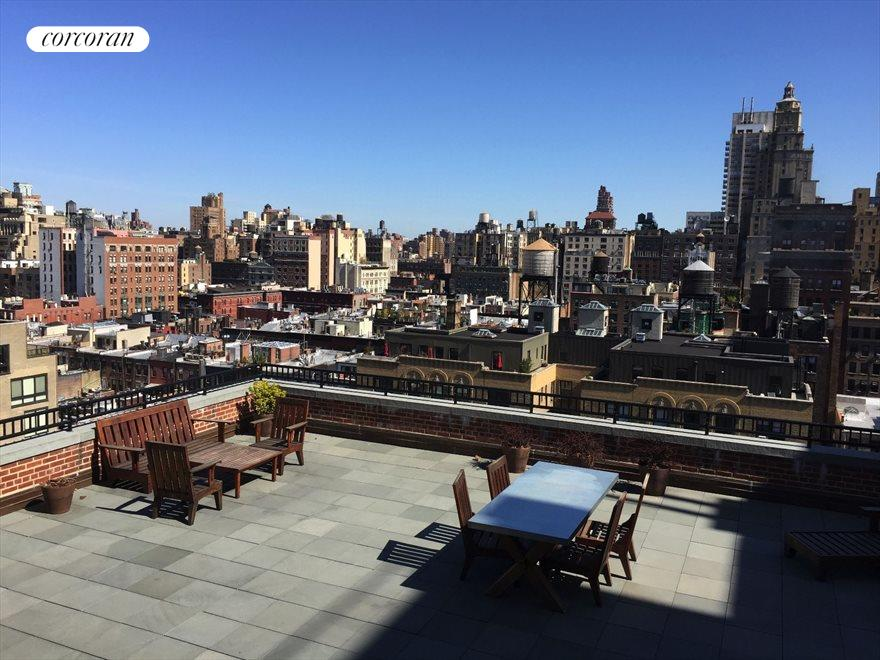 New York City Real Estate | View 15 West 67th Street, #5RE | Building Roof Garden