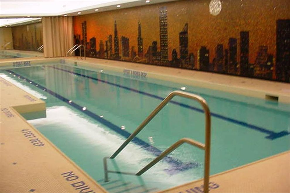 Health Club's Heated Pool