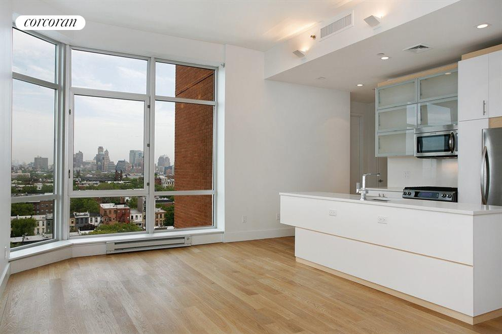 New York City Real Estate | View 100 Luquer Street, #7A | Kitchen / Living Room