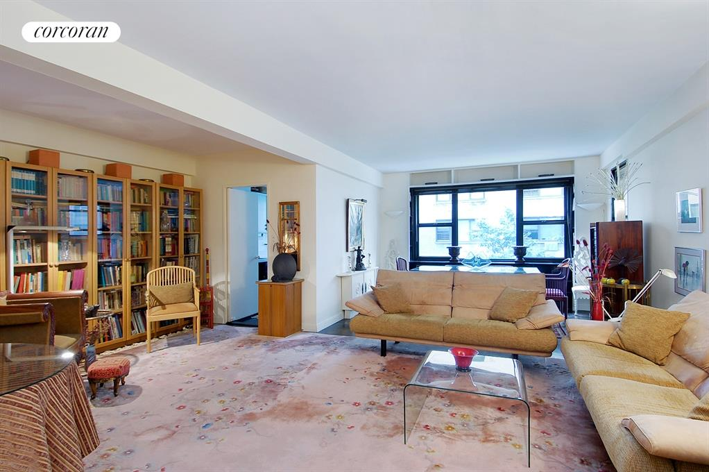 Corcoran 425 east 79th street apt 3c upper east side for Living room 86th street