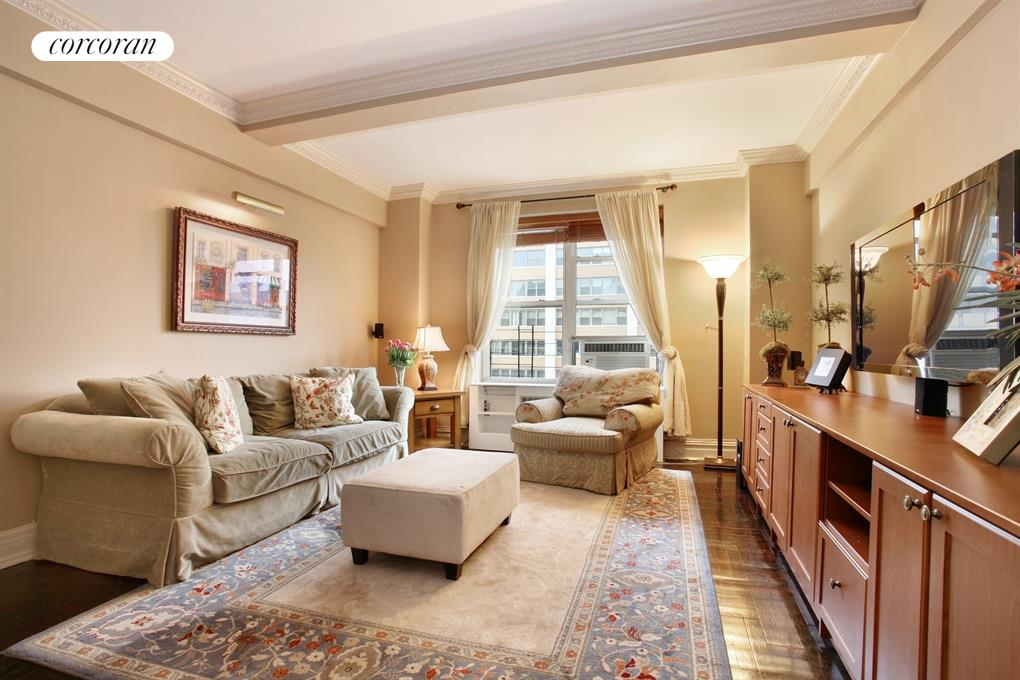 12 West 72nd Street, 15B, Living Room