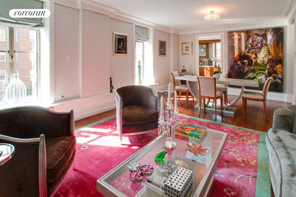 140 East 63rd Street, 5E, Living Room