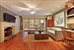 65 East 90th Street, Family Room Opening onto Large Terraced Garden