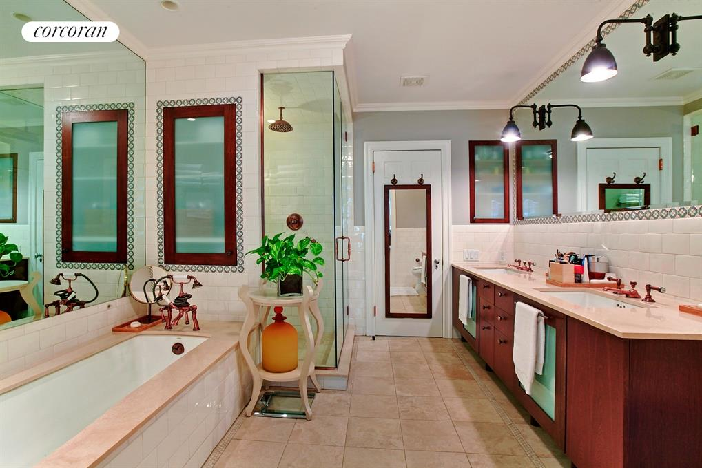 Master Bathroom - Rainshower Stall & Soaking Tub