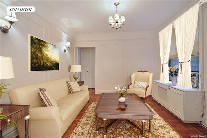 166 East 92nd Street, 3G, Living Room