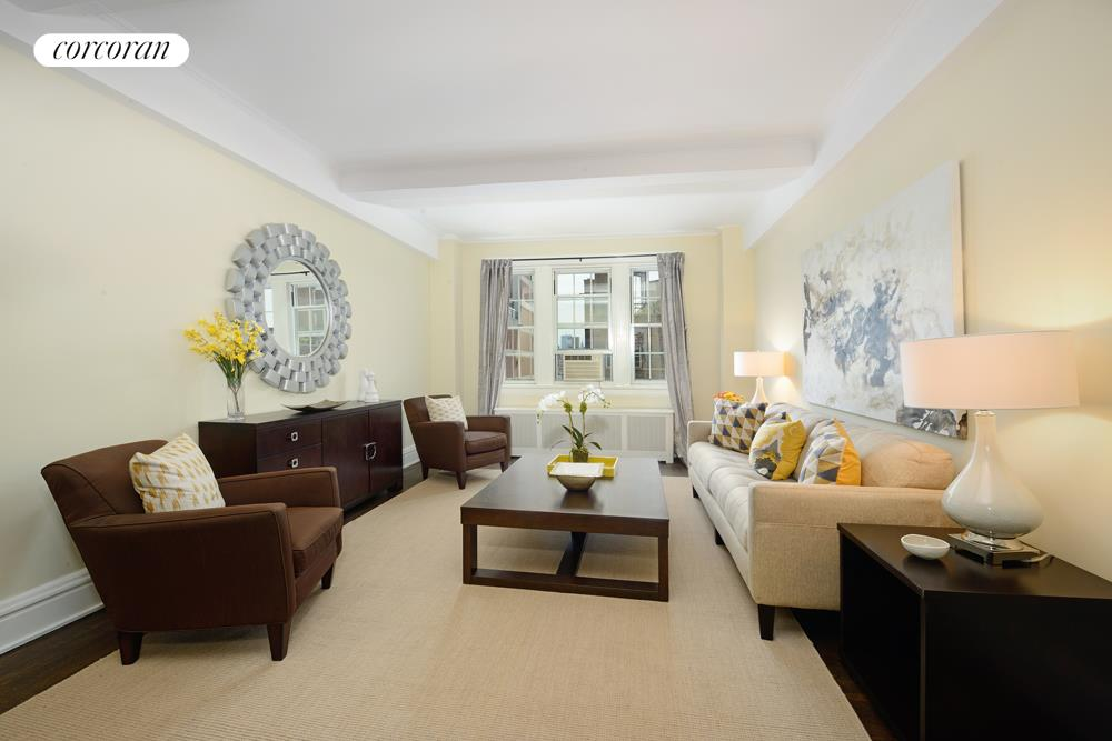 9 East 96th Street, 16A, Living Room