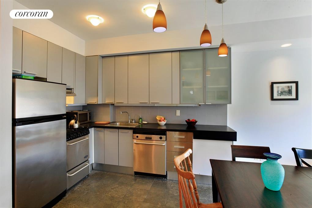 392 14th Street, 4B, Open Kitchen Dining and Living Area