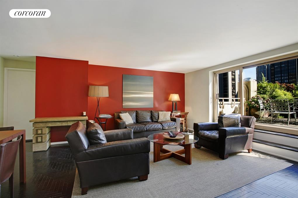 106 Central Park South, 27D, Living Room