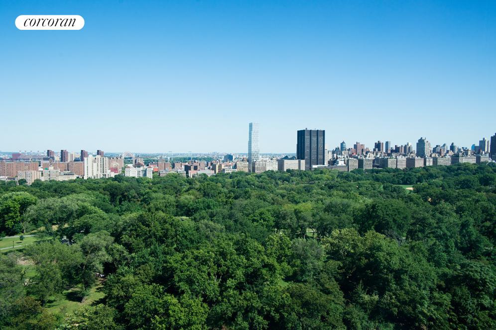 East view of Central Park