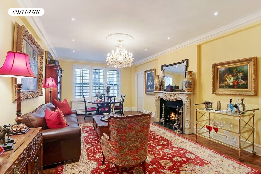 50 East 72nd Street, 10C, Living Room