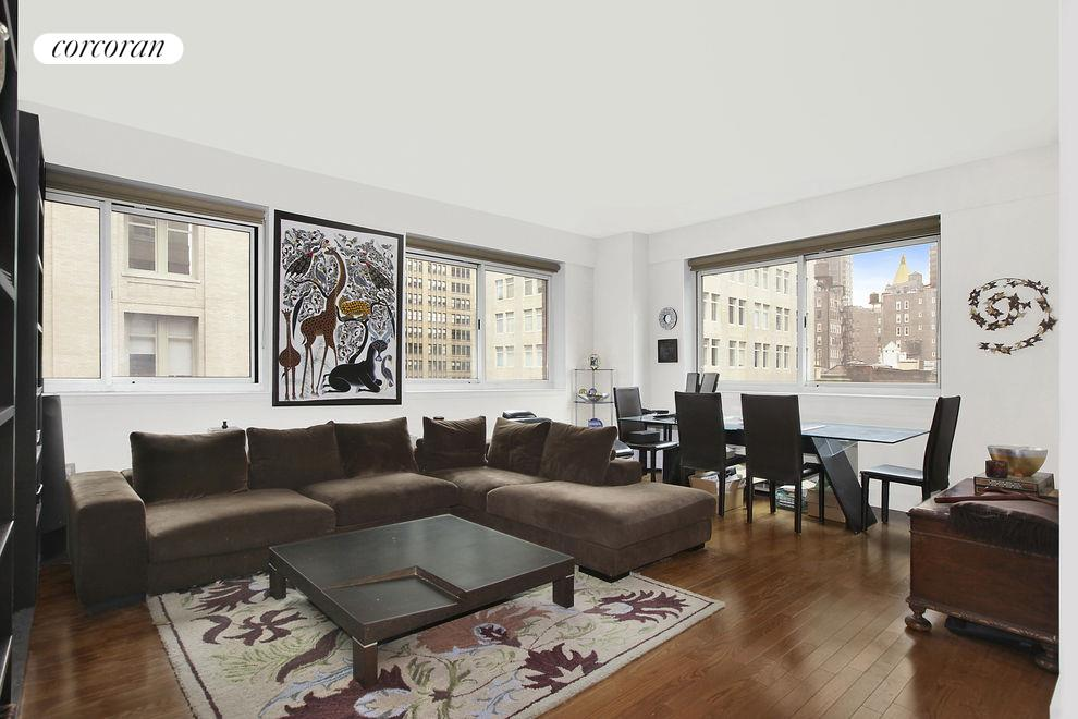 West 24th Street, 200_Apt. 8A, Manhattan (200_W_24_#8A_Living Room_GBedoya)