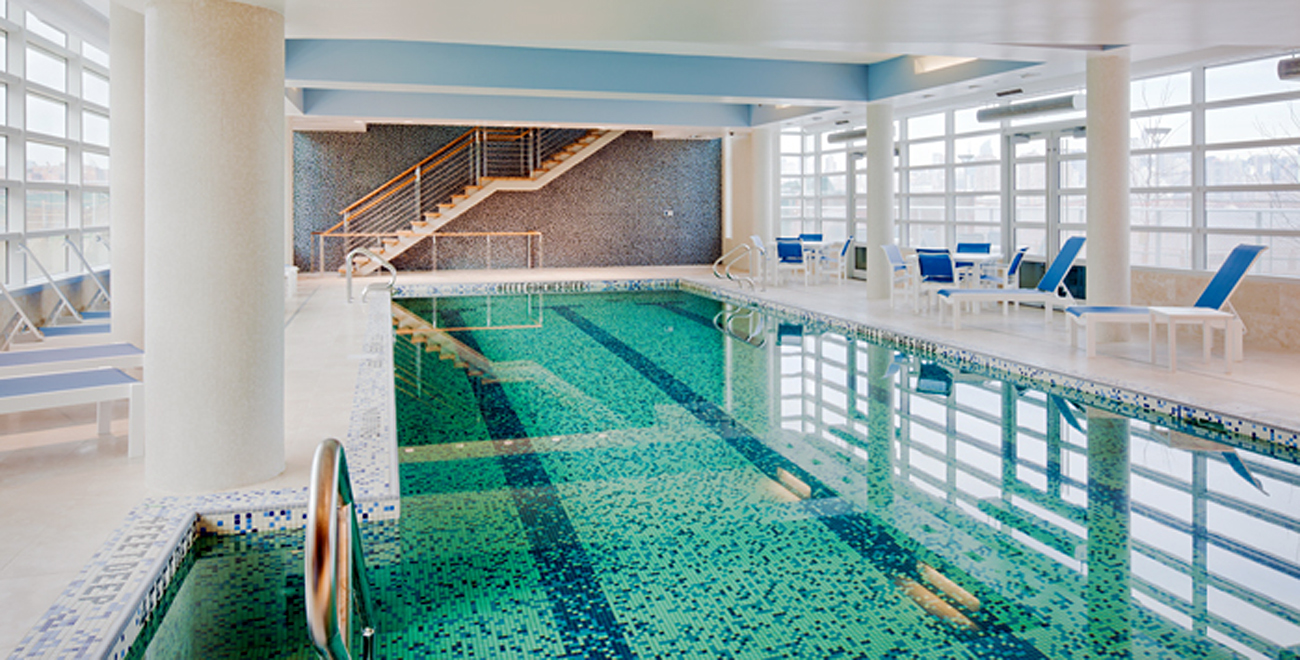 Swimming pool and health club