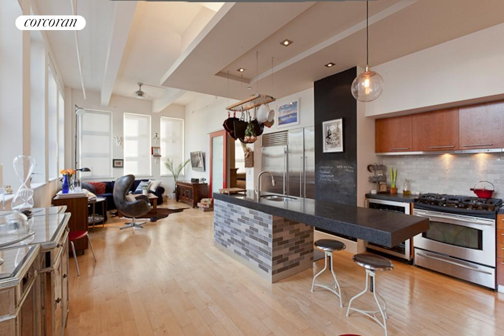 55 Berry Street, 2F, Dining Room
