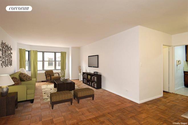 400 East 56th Street, 10J, Living Room