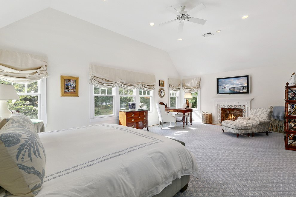 Master suite as furnished