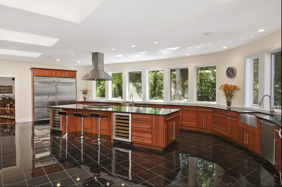 Custom kitchen designed for entertaining