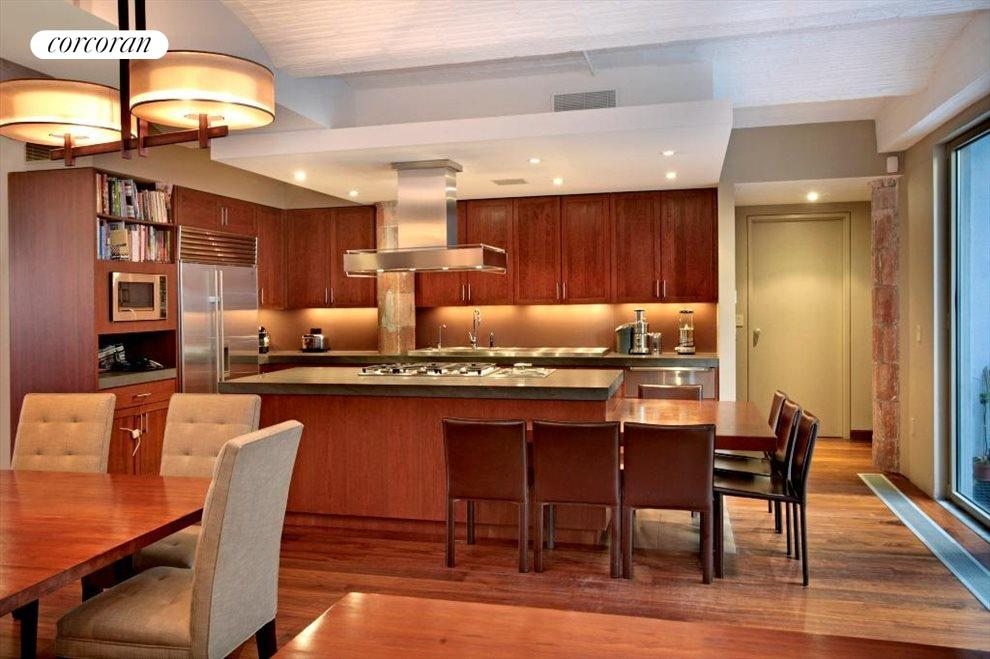 Beautiful Chefs Kitchen with Built in Eating Area!