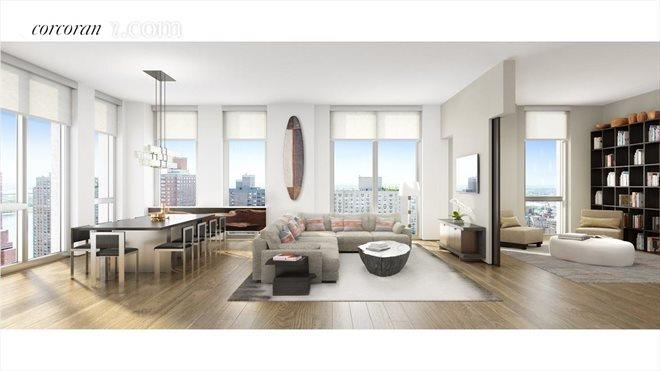 360 East 89th Street, 28A, Living Room