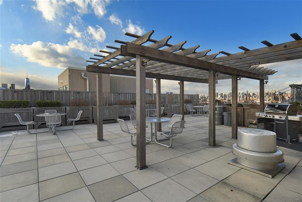 New York City Real Estate | View 440 Kent Avenue, #19D | Roof Terrace