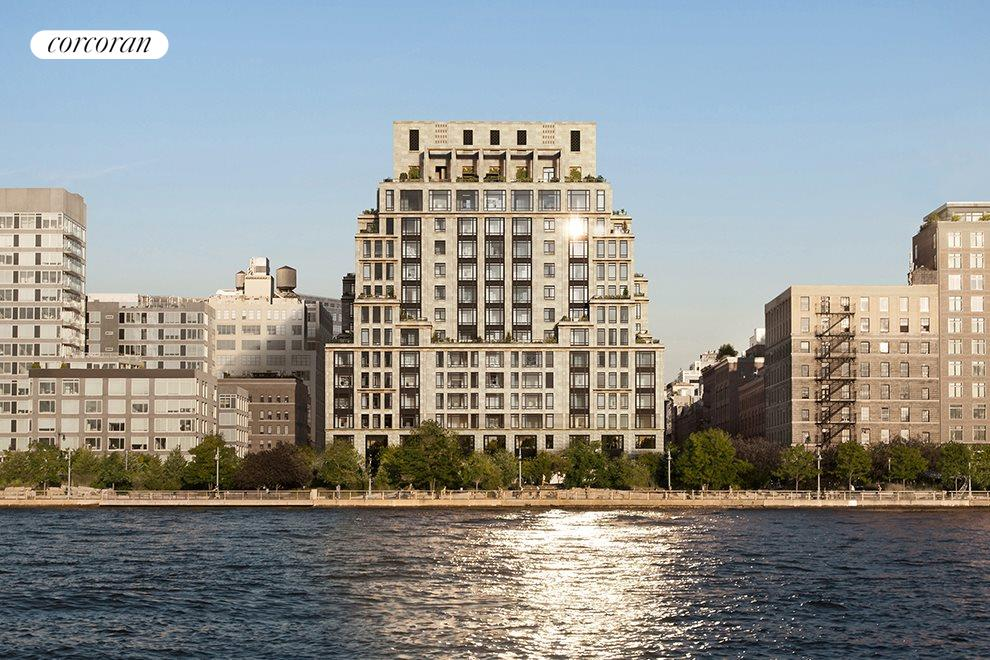 New York City Real Estate | View 70 VESTRY ST, #3F | 70 Vestry sits on the shores of the Hudson