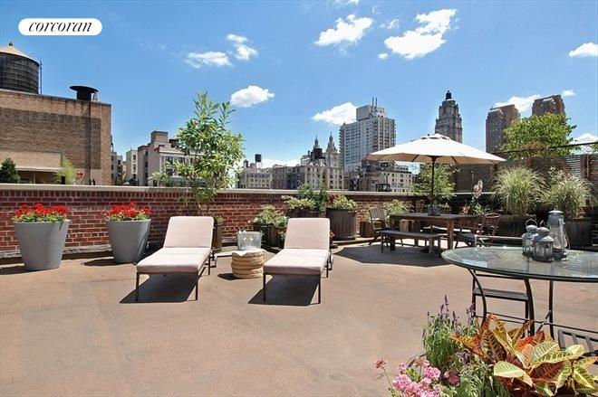 120 West 70th Street, PH A/B, Private Wraparound Terrace with Views